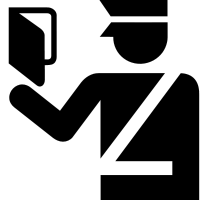 Immigration Officer Symbol