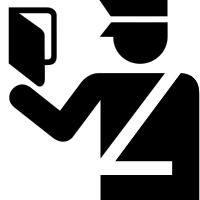 Immigration Officer Symbol
