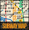 Official MTA Subway Map