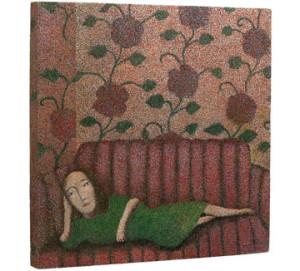 Woman in Green Dress, 1979