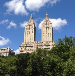 The San Remo Towers - part of the Upper West Side's iconic skyline.