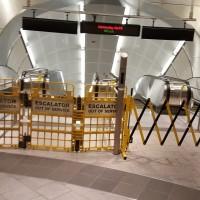 Hudson Yards station broken escalators