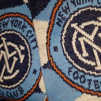 NYCFC scarf